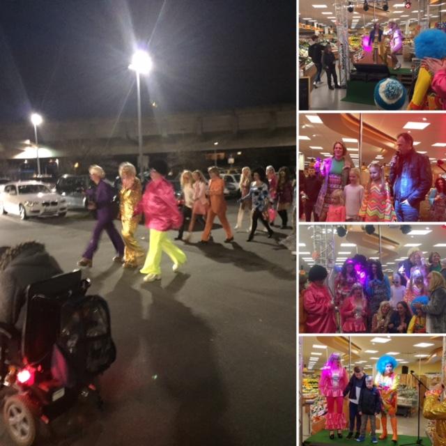 Beleuchtungsplanung mal anders: Karaoke im 70er Jahre Stil in Zusammenarbeit mit EDEKA Niehoff