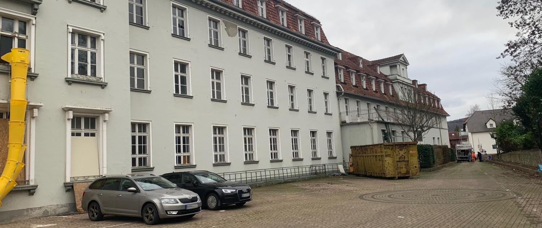 Außenansicht vom Altenheim in Bad Eilsen